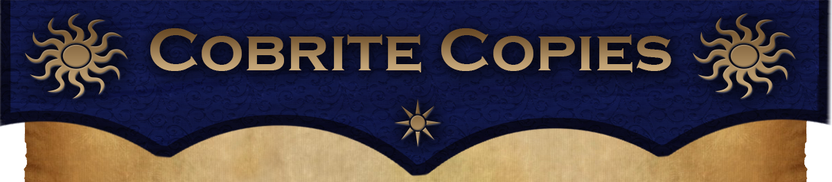Cobrite Copies